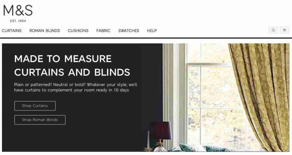 Made to Measure Curtains from M&S